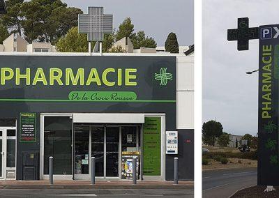 Enseigne pharmacie à Montpellier
