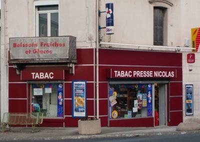 façade de tabac